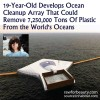 19 Year Old Develops Way to Clean Up The World's Oceans